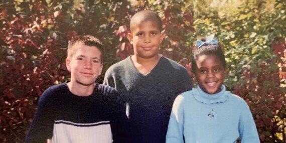 Weimer kids circa 2001
